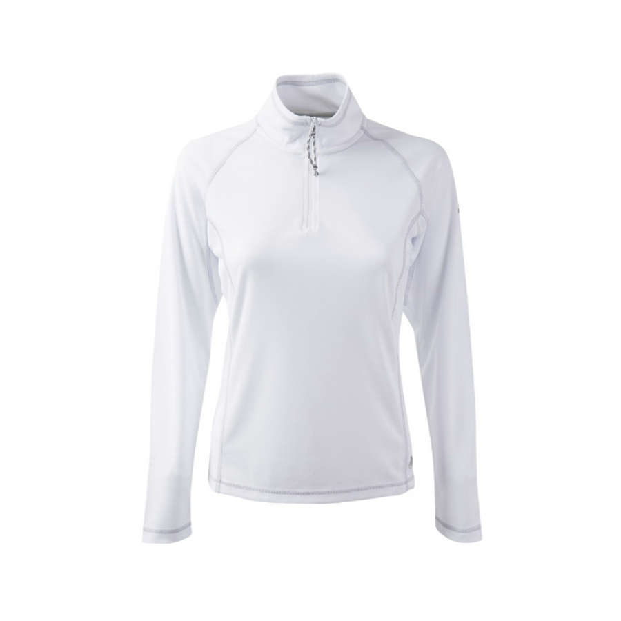 ff0d5085b6 GILL WOMENS UV TEC ZIP NECK LONG SLEEVE TOP